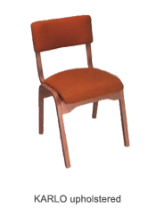 Veneer chair Karlo