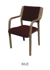 Veneer chair Sile