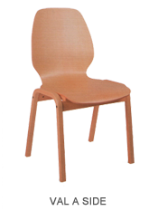 Veneer chair ValASide