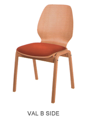 Veneer chair ValBSide